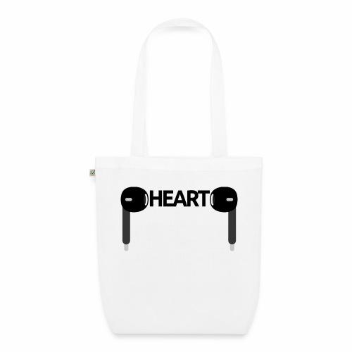 ListenToYourHeart - Ekologiczna torba materiałowa