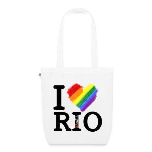 I love Rio - Bolsa de tela ecológica