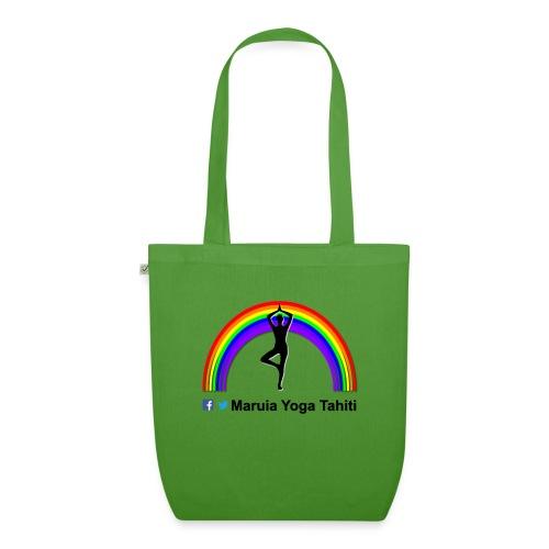Logo de Maruia Yoga Tahiti - Sac en tissu biologique