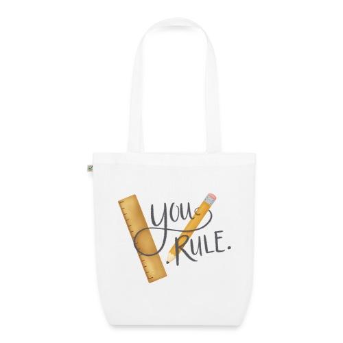 You rule! - Ekologisk tygväska