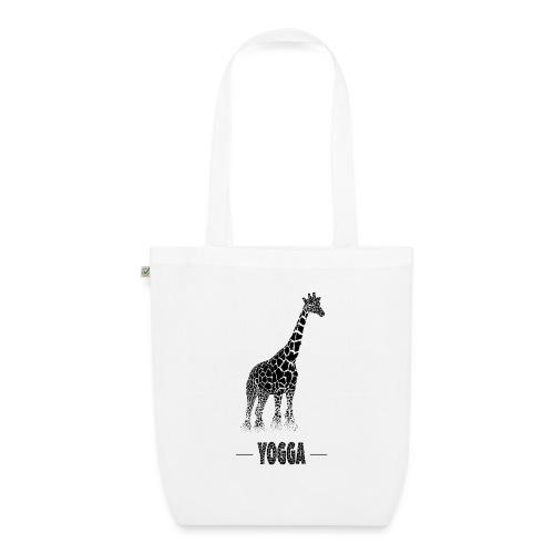 Girafe (E) - Sac en tissu biologique