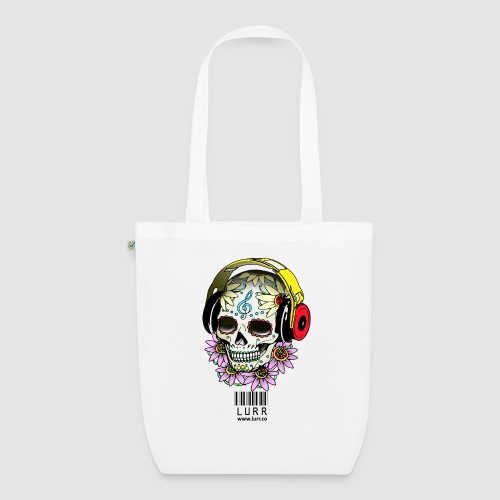 smiling_skull - EarthPositive Tote Bag