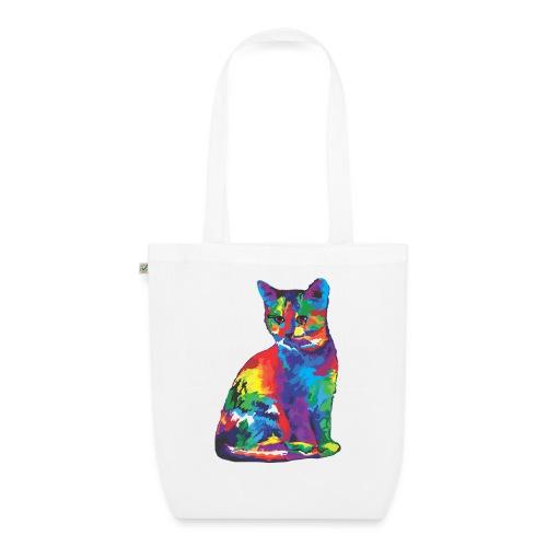 Katze - Bio-Stoffbeutel