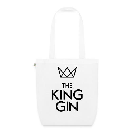 The King Gin Logo schwarz RGB - Bio-Stoffbeutel