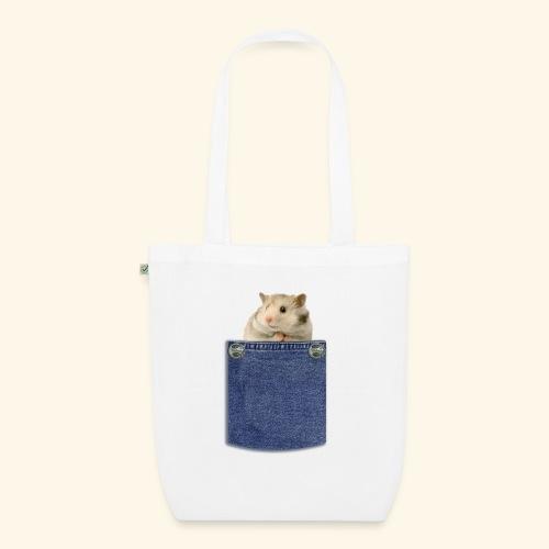 hamster in the poket - Borsa ecologica in tessuto