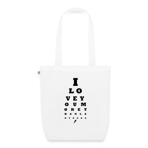 GoGo for GAGA - I love you more than Lady G... - EarthPositive Tote Bag