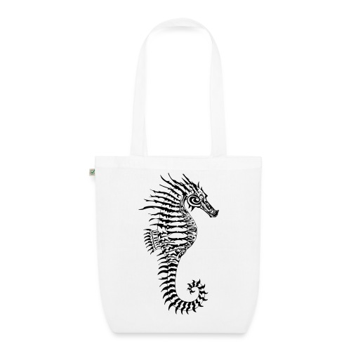 Alien Seahorse Invasion - EarthPositive Tote Bag