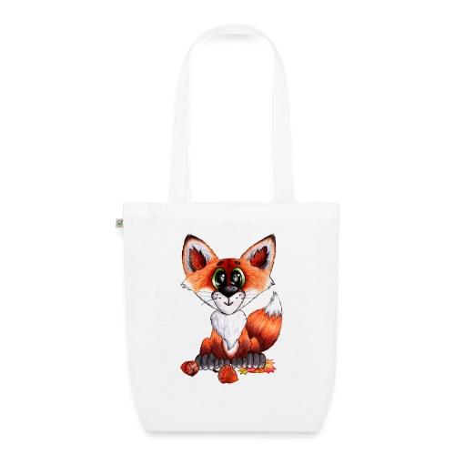 llwynogyn - a little red fox - Luomu-kangaskassi