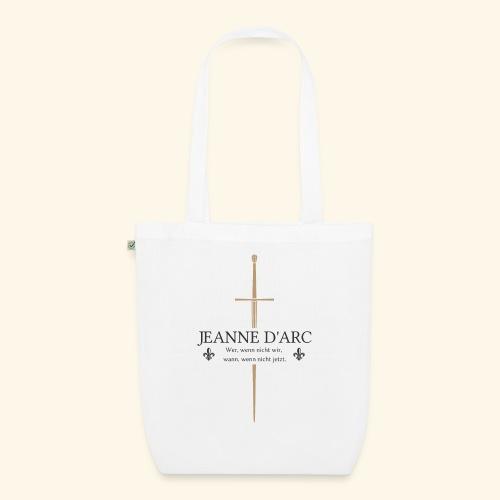 Jeanne d arc dark - Bio-Stoffbeutel