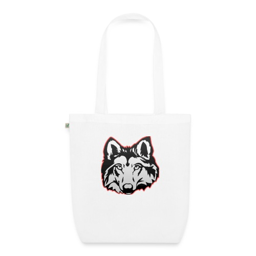 Wolfie (Red) - EarthPositive Tote Bag