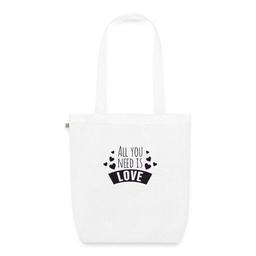 All You Need Is Love - Bolsa de tela ecológica