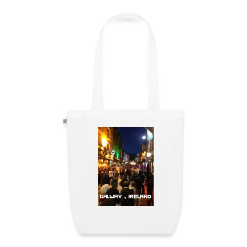 GALWAY IRELAND SHOP STREET - EarthPositive Tote Bag