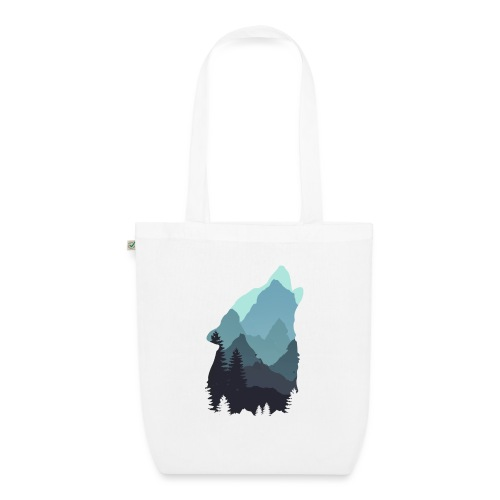 Wolf - EarthPositive Tote Bag