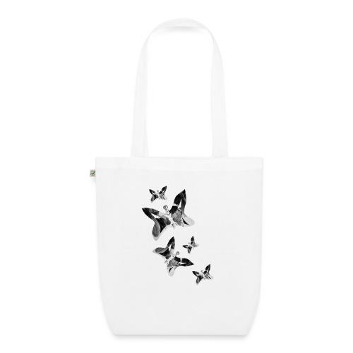 Schmetterlinge - Bio-Stoffbeutel