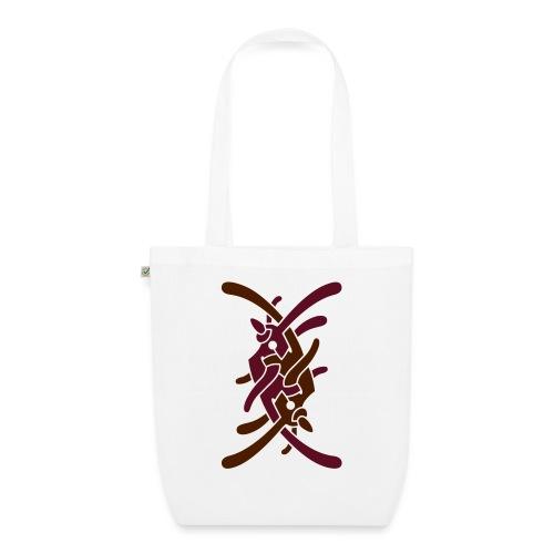 Stort logo på bryst - Øko-stoftaske
