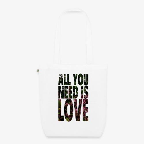 All You need is love - Ekologiczna torba materiałowa