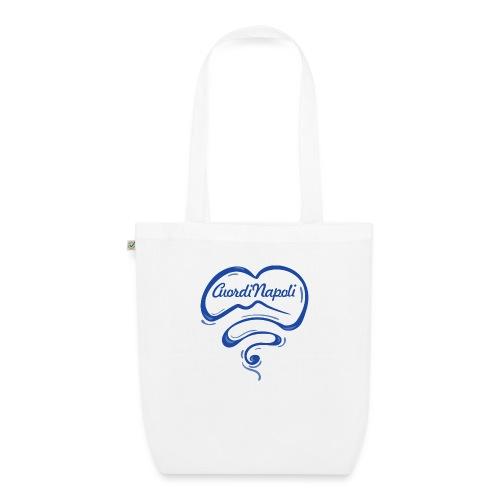 New Logo CuordiNapoli Blu - Borsa ecologica in tessuto