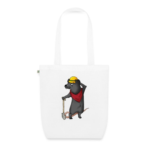 Arbeiter Ratte - Bio-Stoffbeutel
