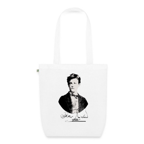 Rimbaud+signature.png - Sac en tissu biologique