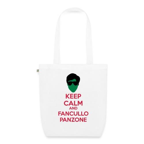 Fancullo panzone Keep Calm - Borsa ecologica in tessuto