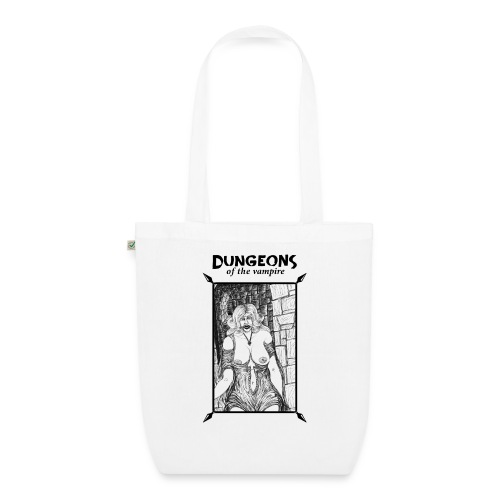 catacombs vampire black version - EarthPositive Tote Bag