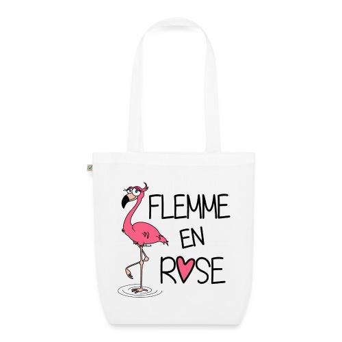 Flamant Rose / Flemme en Rose - Sac en tissu biologique