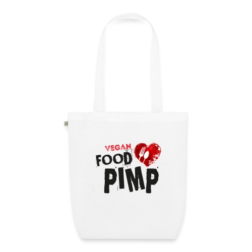 Vegan Food Pimp stacked l - EarthPositive Tote Bag