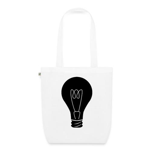 Glühbirne - Bio-Stoffbeutel