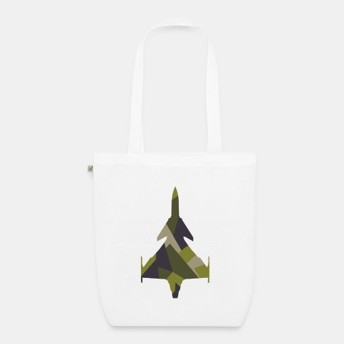 JAS 39 Gripen jet fighter - EarthPositive Tote Bag