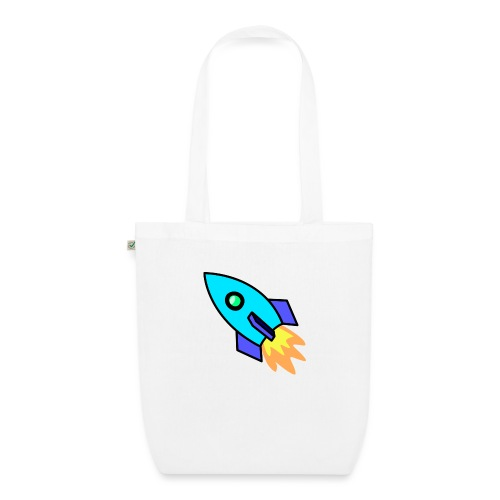 Blue rocket - EarthPositive Tote Bag