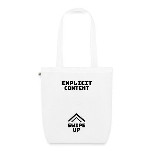 Explicit content - Bolsa de tela ecológica