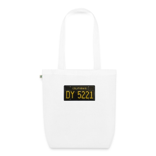 CALIFORNIA BLACK LICENCE PLATE - EarthPositive Tote Bag