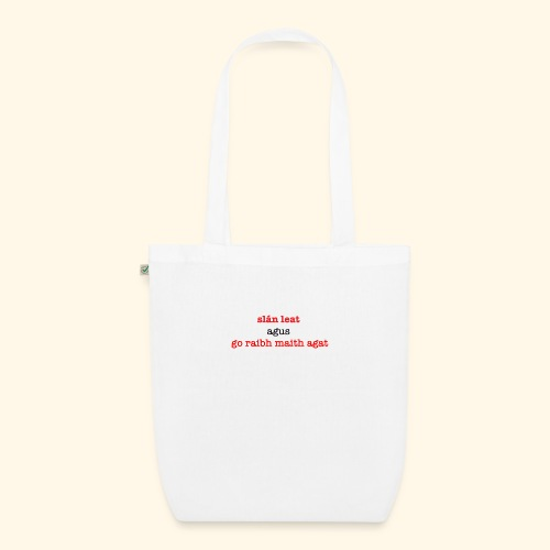 Good bye and thank you - EarthPositive Tote Bag