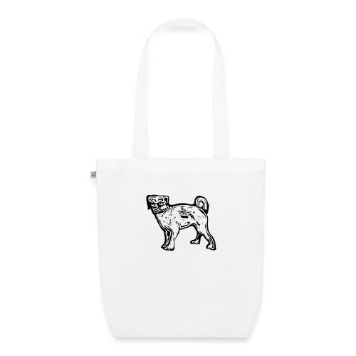 Pug Dog - EarthPositive Tote Bag