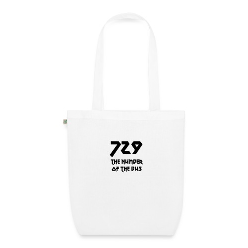 729 grande nero - Borsa ecologica in tessuto