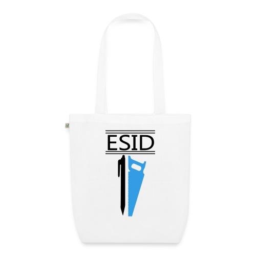 ESID Zwart-blauw - Bio stoffen tas