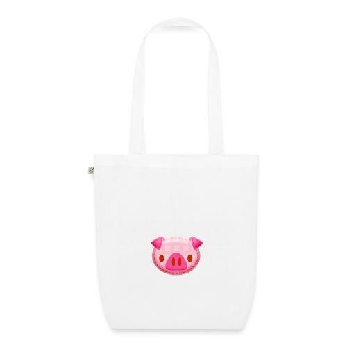 Tasche-Piggy - Bio-Stoffbeutel
