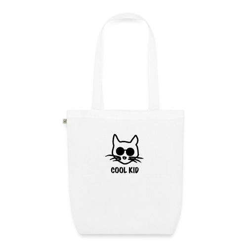 Cool Kid Cat - Ekologisk tygväska