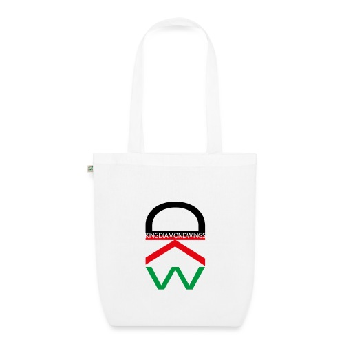 King Diamond Wings Colored Logo - EarthPositive Tote Bag