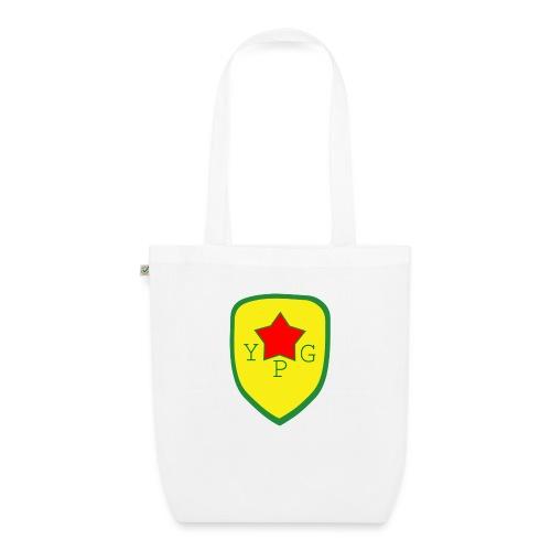 Unisex Red YPG Support Hoodie - Luomu-kangaskassi