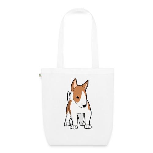 Bull Terrier bianco fulvo - Borsa ecologica in tessuto