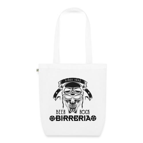 Classic Birreria Rock Skull - Bio-Stoffbeutel