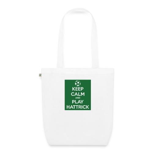 keep calm and play hattrick - Borsa ecologica in tessuto