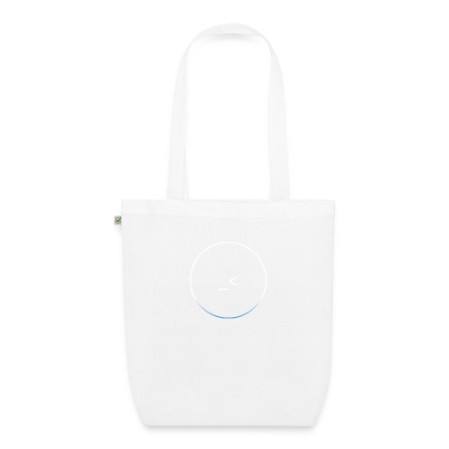White and white-blue logo - EarthPositive Tote Bag