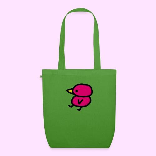 Pinkguin - Øko-stoftaske