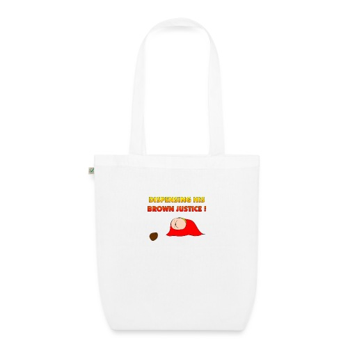 Flying Bum (diagonal) - with text - EarthPositive Tote Bag
