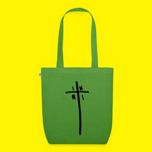 Cross - INRI (Jesus of Nazareth King of Jews) - EarthPositive Tote Bag