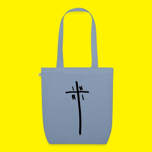 Cross - INRI (Jesus of Nazareth King of Jews) - EarthPositive Tote Bag