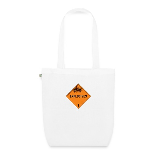 Explosives - EarthPositive Tote Bag
