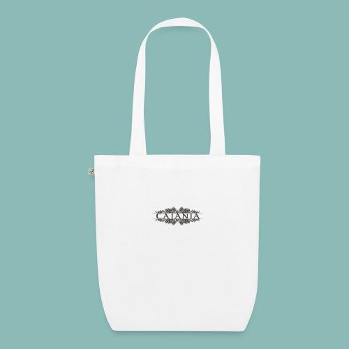 Caiania-logo harmaa - Luomu-kangaskassi